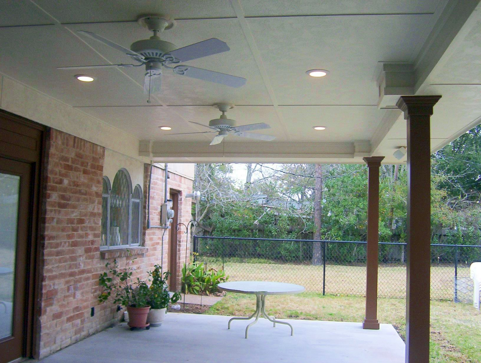 This is What Outdoor Ceiling Fans Are For