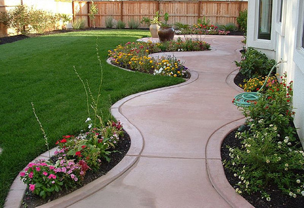 Simple Garden Landscaping Ideas The Gardening