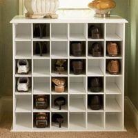 Shoe Storage Cabinet | Casual Cottage