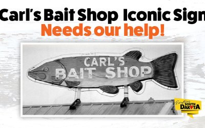Carl's Bait Shop Sign Needs Our Help!