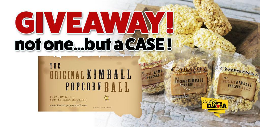 The Original Kimball Popcorn Ball and Everything South Dakota Giveaway