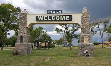 Welcome to Ipswich, South Dakota