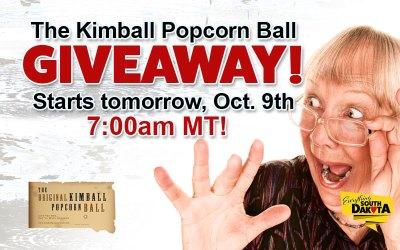 The Original Kimball Popcorn Ball Giveaway!