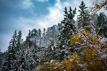 First Snow Spearfish Canyon