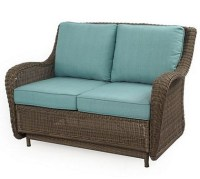 Presidio Patio Loveseat Glider | Everything Turquoise