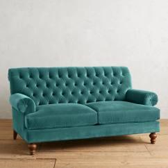 English Roll Arm Sofa Australia Sofas Italianos Teal Velvet Fan Pleat Settee Everything Turquoise