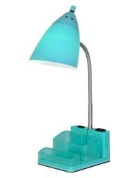 Turquoise Organizer Task Lamp | Everything Turquoise
