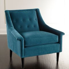 Aqua Accent Chair Individual Garden Covers Azure Compton Everything Turquoise