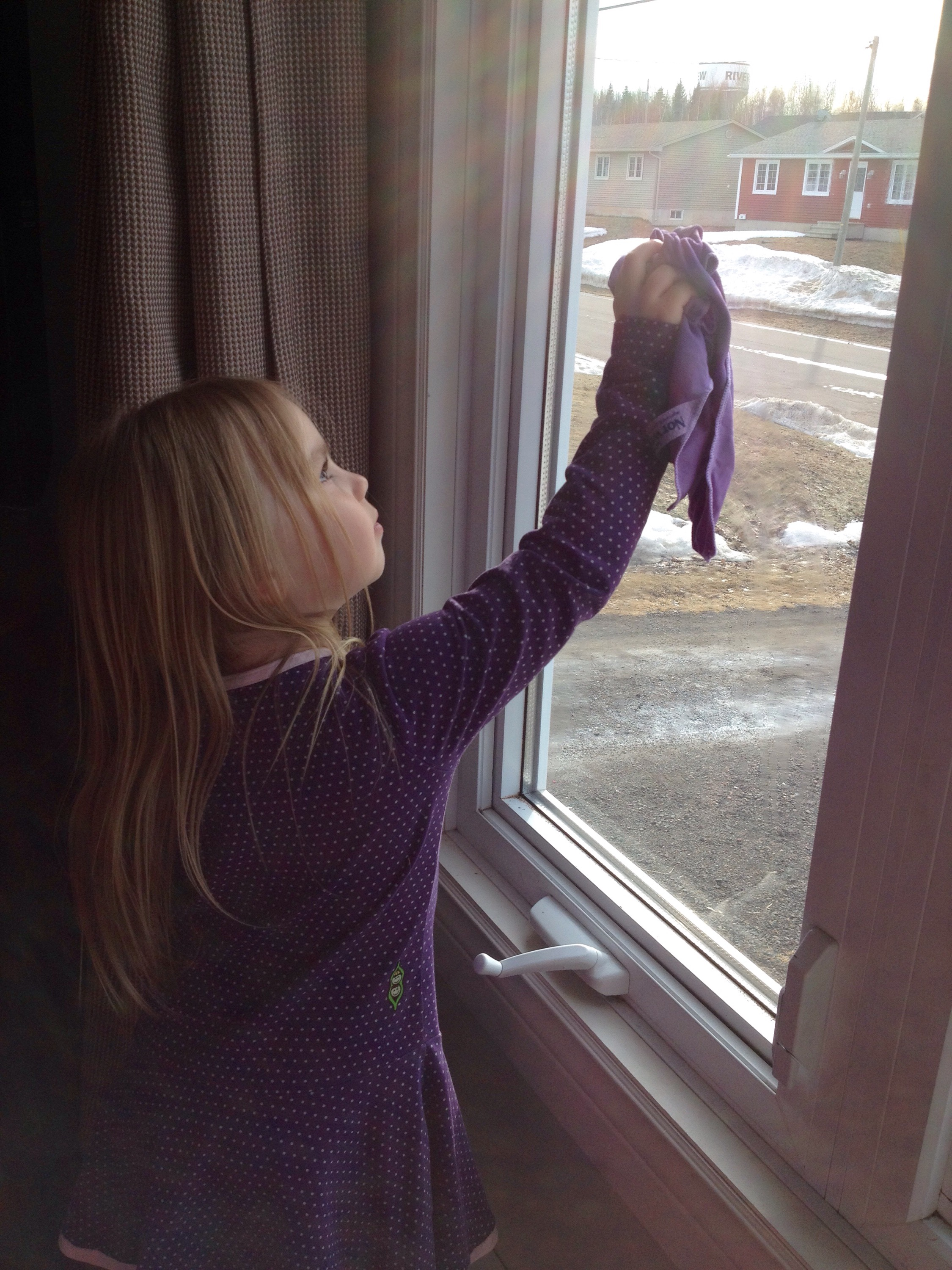 how to use norwex window cloth