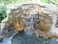 Landscape Waterfalls, Pool & Pond Backyard Rock Waterfalls
