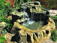 Patio Pond Garden Waterfall Kits & Backyard Water Features