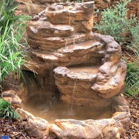 Backyard Garden Pond Waterfall Kits, Fake & Artificial Rocks