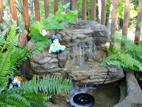 Small Patio Pond Backyard Waterfall Kits & Water Features