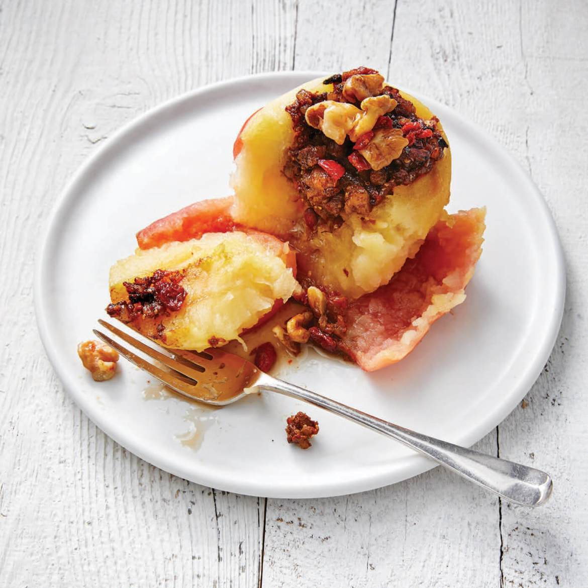 baked apples are one of the 21 Best Vegan Christmas Dinner Recipes