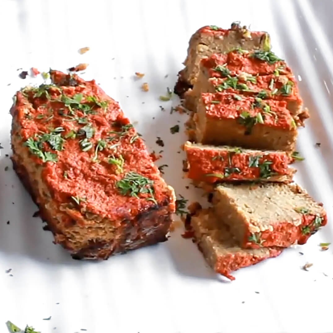 chickpea meatloaf is one of the 21 Best Vegan Christmas Dinner Recipes
