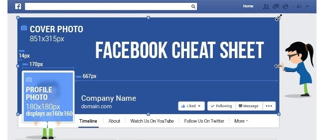 The Latest [Dec 2014] Facebook Cheat Sheet for Facebook Admins [INFOGRAPHIC]