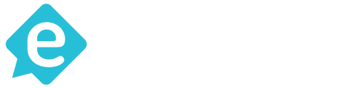 everzocial logo white landscape