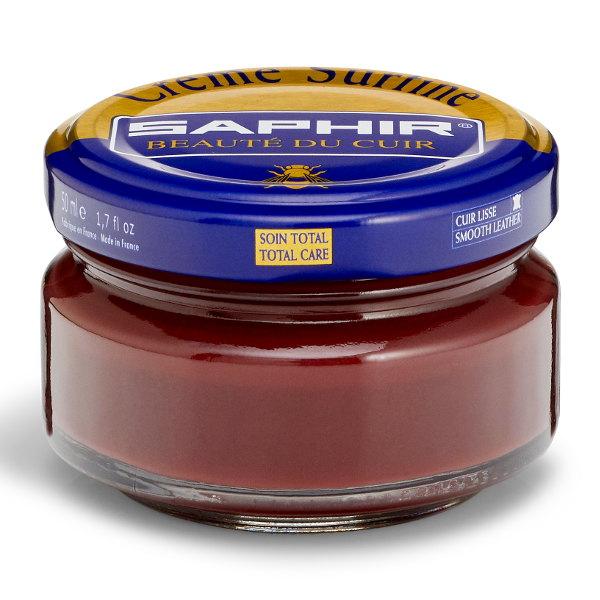 Creme Surfine Pommadier Protective Leather Wax – Mahogany