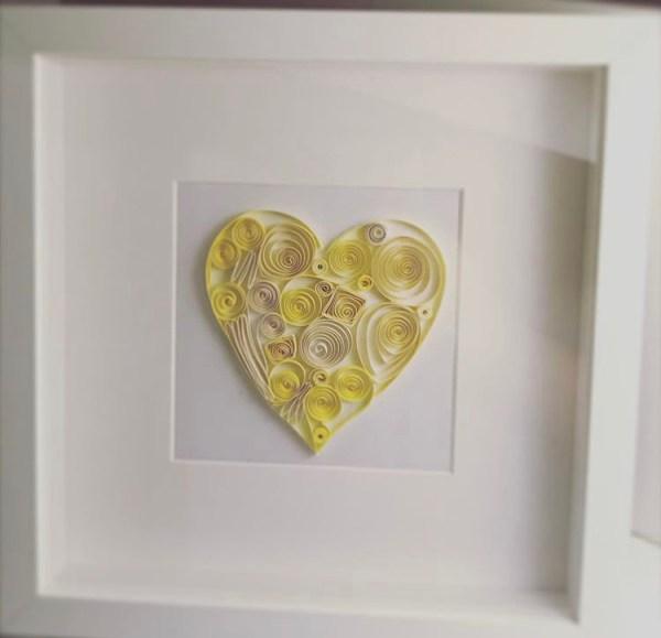 irish made Quilling art frame