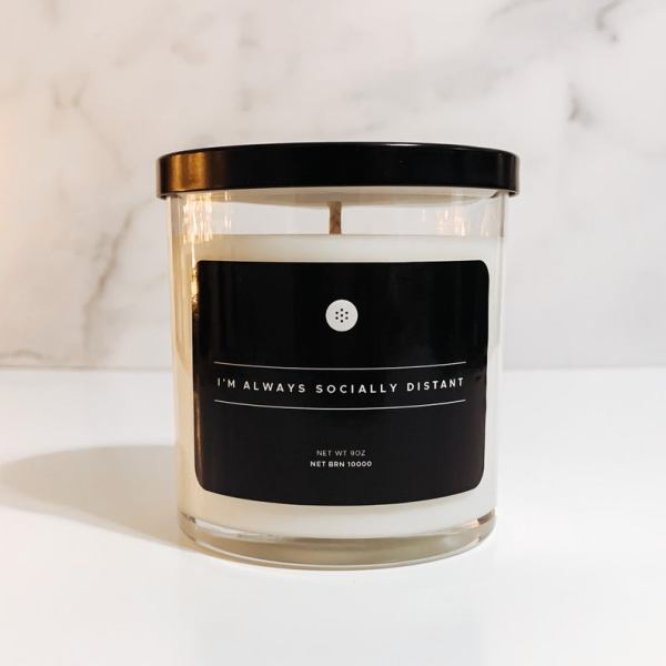 Personalised Apothecary Candle aromatherapy candles