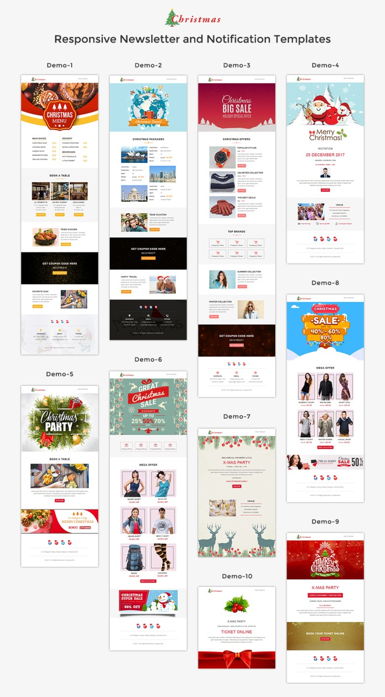 Service - Responsive Email Template + Stampready Builder