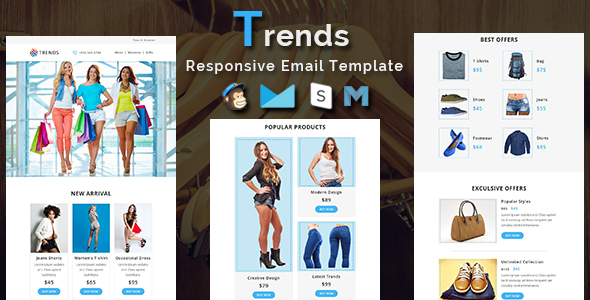 Christmas - 10 Responsive Newsletter and Notification Templates - 4