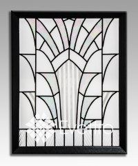 Stained Glass Window Panels Art Deco - Glass Designs
