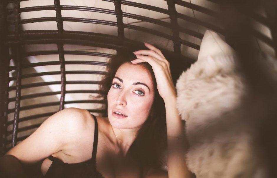 an up close boudoir photo