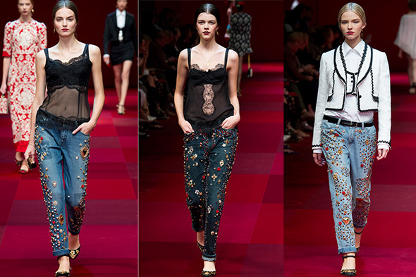 Dolche&Gabbana, spring 2015 Ready-to-Wear