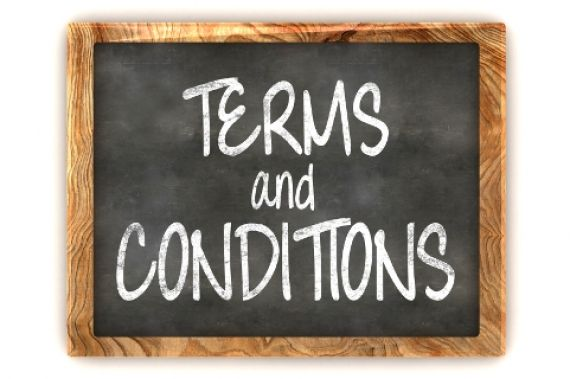Terms  Conditions  EVH