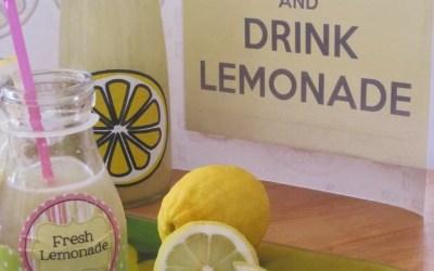 Homemade lemonade!
