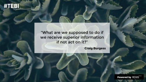 Craig Burgess on EBI