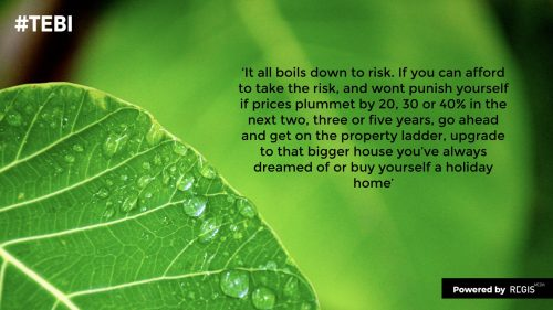 Its all about risk