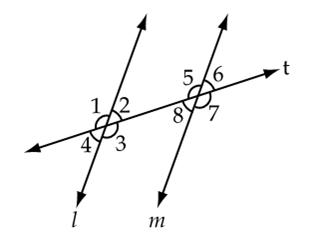 Parallel Lines and Co-Interior Angles