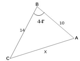 Sine and Cosine Laws, Class 11 Mathematics Sample Papers