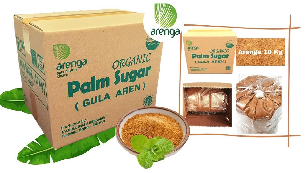 Arenga palm sugar kemasan 10 Kg