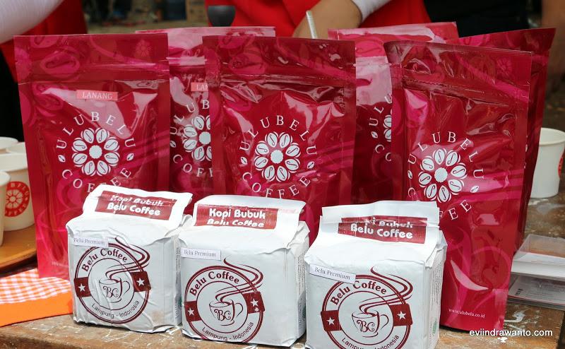Varian kemasan Ulubelu Coffee