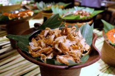 Foto Ikan asin kipas. Hidangan tradisional Indonesia