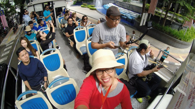 Selfie di Kuala Lumpur