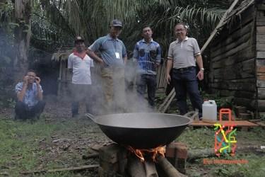 Bimbingan Teknis Membuat Gula Semut Aren