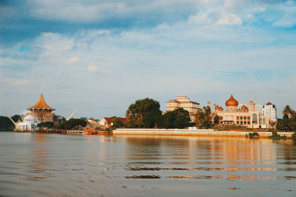 Sore di Kota Kuching