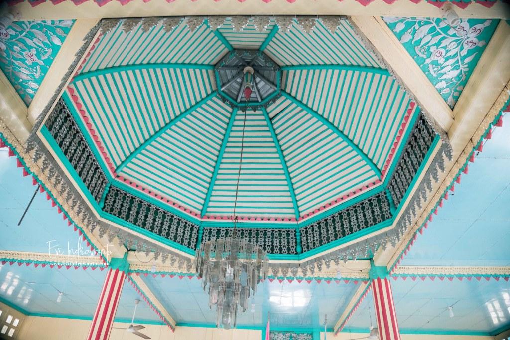 Kubah dalam Masjid Syekh Sutan Hasan Sulaiman