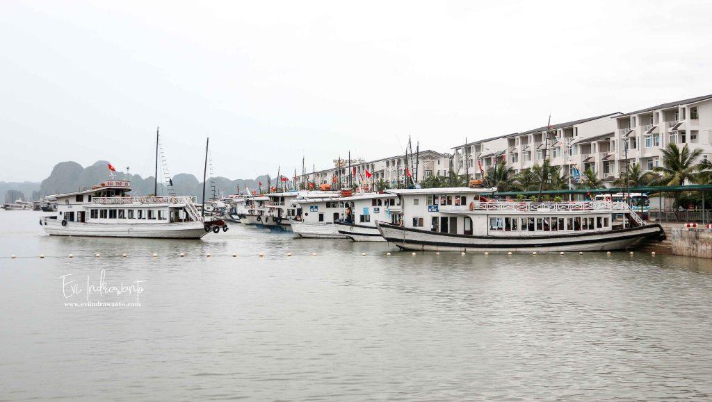 Tiba di Tuan Chau Harbour