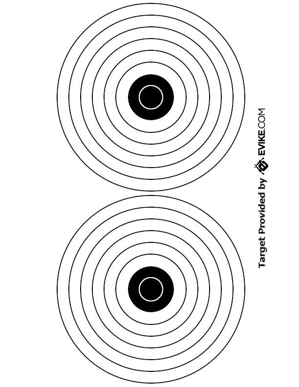 Evike.com Airsoft Shooting Target Free Download