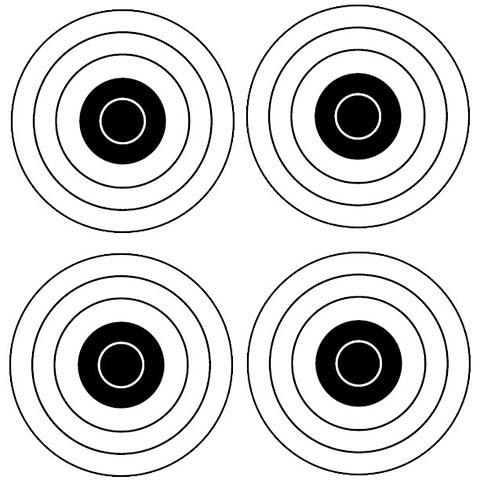 Bullseye x4
