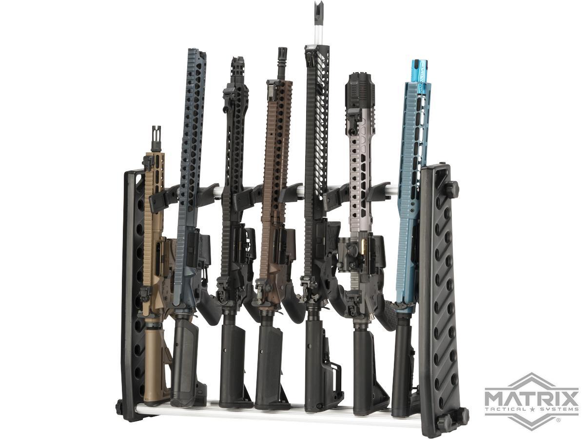 matrix modular rifle rack storage stand for long guns length 30