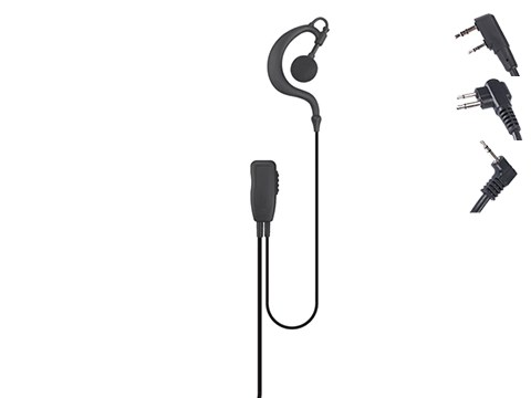 Code Red Headsets Watchman Lapel Microphone w/ PTT
