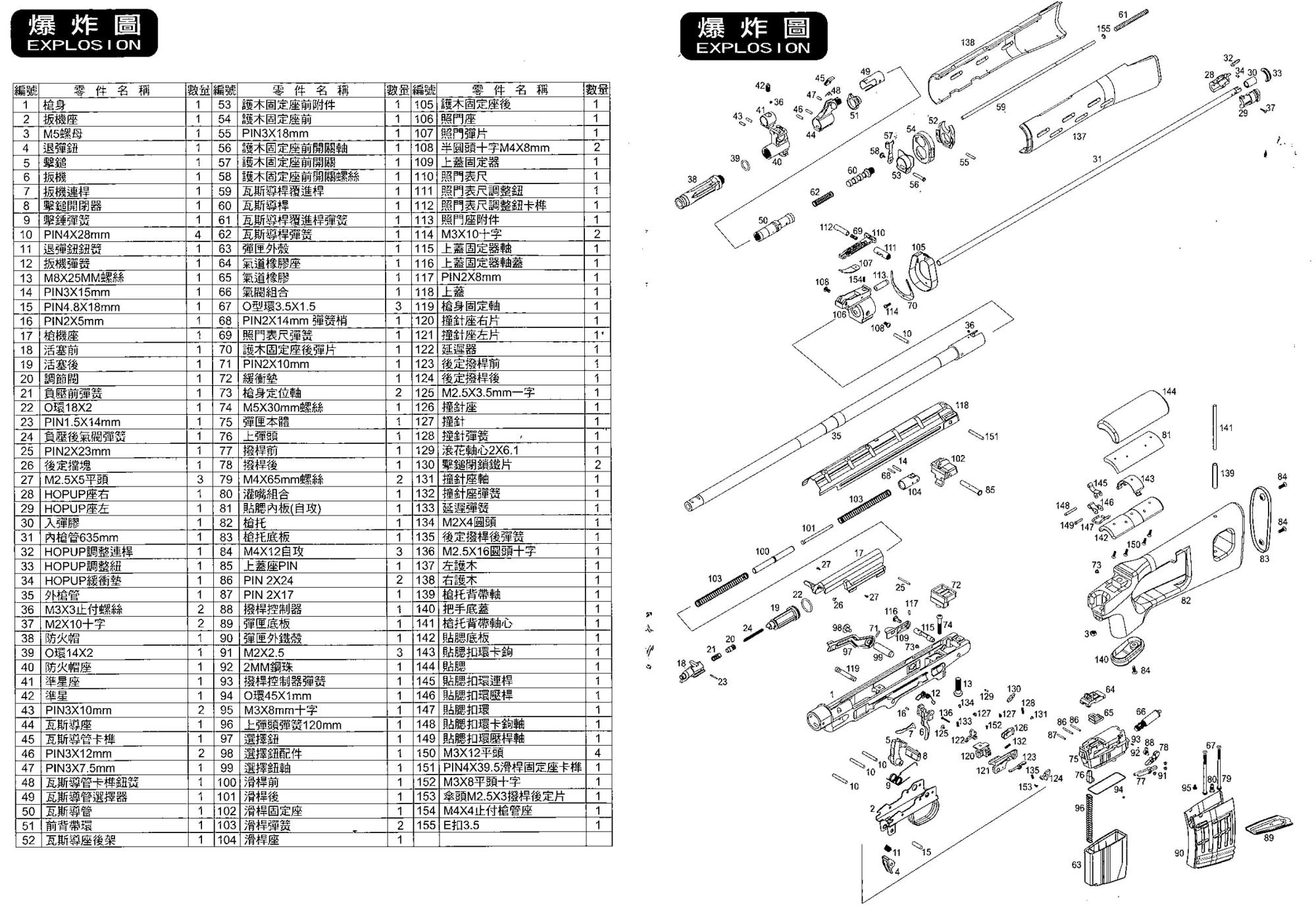 hight resolution of cyma m14 parts diagram wiring diagram yer free download manual for we gbb svd instruction user