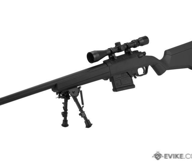 Amoeba Striker S1 Gen2 Bolt Action Sniper Rifle Color Black