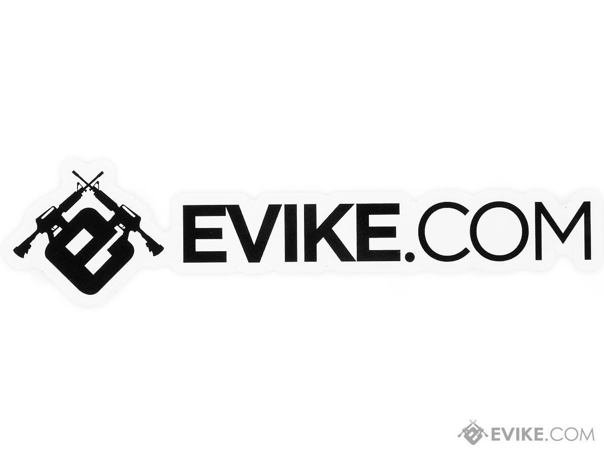 Evike.com Horizontal Logo Sticker (Size: 1.5